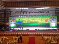 Chipshow P6 Full Color Indoor LED Display Screen in Brunei Asean Summit