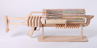 Rubber Band Machine Gun Has Well Surpassed Its Crowdfunding Goal on Kickstarter