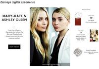 "Luxury Specialty Retailer Barneys New York Introduced a New""Favorites""Tool on Website"