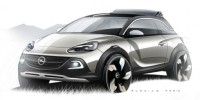 Opel Adam Rocks Have Been Revealed Ahead of The Concept's Unveiling