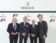 Luxury Swiss Watch Brand Rolex Is The Official Formula 1 Timekeeper