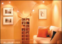 Track Lighting Makes It Easy to Highlight Your Painting,Provide Greater Visibility