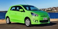 The Limited Edition Mitsubishi Mirage Pop Green Is Now on Sale in Australia