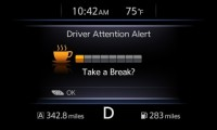Nissan Catches Driver Attention Alert for Passenger Safety