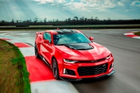 Chevrolet Debuts 2017 Camaro ZL1 Sports Coupe