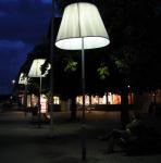 Unique Adjustment to Average Street Lamp in Sweden