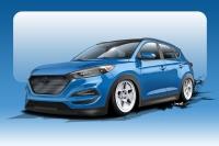 Bisimoto Creates 700HP Hyundai Tucson to Showcased at SEMA