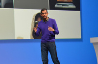Sundar Pichai,Head of Google's Chrome Group,Speaks at The Company's IO Event Today