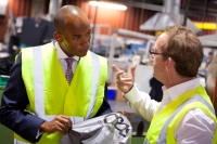 Chuka Umunna MP Spent Around Two Hours at Duo UK as He Gained First-Hand Experience