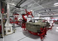 Tesla Motors Is Set to Accelerate Production of Electric Sedans at Its Assembly Plant