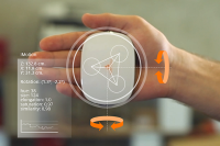 Imotion Control and Touch Sensors Can Be Changed and Enlarged with Hand Gestures