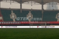 GTEK Outdoor LED Displays Settled Down at The Football Stadium for China Series A League