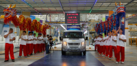 Ford Motor and Its Strategic Partner Jmc Opened a New Commercial Vehicle Assembly Plant