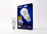The LEDs Are Replacements for 60-Watt Incandescent Bulbs Yet Use a Fraction of The Energy