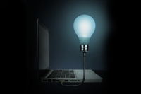 The Bright Idea Lamp Is a USB Laptop Light Without The Extras