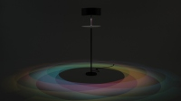 Greek Designer Conjures Colorful Luminaire that Mimics Rainbows