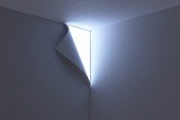 Yoy Design Studio's Peel Wall Light Uses Shadow and Light to Their Advantage