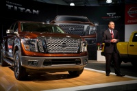 Nissan Debuts Its Pickup Truck TITAN 2017 at The 2016 New York International Auto Show