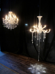 Chandeliers Are Permanent,Except This All Wax Candeleir From The Designer Takeshi Miyakawa