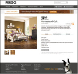 Pergo's New Website Recently Won Both Gold and Silver in The 2013 Davey Awards