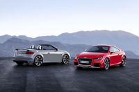 Audi Launches New TT RS Coupe and Roadster at Beijing Auto Show
