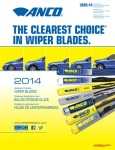New Anco Wiper Blade Brand Master Catalog Speeds Selection of Blades for Any Vehicle