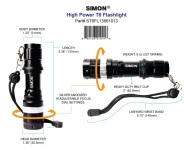 Simonreleased The Newly Developed Simon High-Power Flashlight T6 PRO Mini