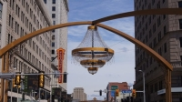 PlayhouseSquare Is Erecting as The World's Largest Outdoor Crystal Chandelier