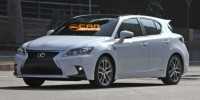 2014 Lexus CT200h Has Been Spied Free of Camouflage