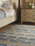 Capel Rugs' Tuscan Sun in 475 Turquesa Was Among This Year's Winners of The Carpet Awards