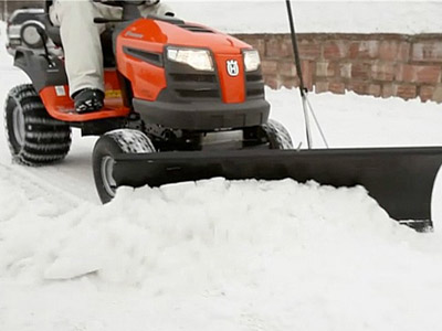 5 Reasons Not to Use Your Lawn Tractor to Plow Snow