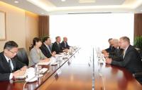 Liu Zhenya Met with Acatech President Reinhard F. Huttl