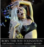 Outlandish Pop Star Lady Gaga Released a Limited Edition Stationery Line to Raise Money