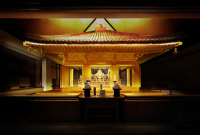 Toshiba Group Donated and Installed LED Lighting to Illuminate Buddhist Temple