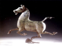 Bronze Galloping Horse Treading on a Flying Swallow Is Unique
