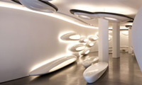 Roca London Gallery Features a Lighting Control System From Helvar