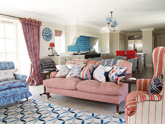 Trendy Transition: How to Choose and Use Colors in an Open Floor Plan
