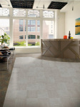 Natural Creations Luxury Vinyl Tile with the I-Set Installation System by Armstrong.