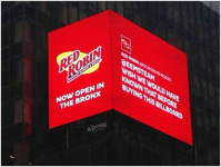 Times Square Is Characterized With Absen LED Display