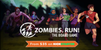 Fitness App Zombies, Run Gets Board Game Treatment on Kickstarter