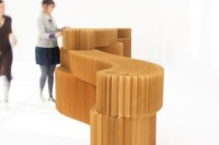 One Half of Molo's softwall+Softblock Modular System:Softblock