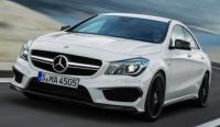 Official Images of The Mercedes-Benz CLA45 Amg Have Leaked
