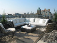 Toronto Rooftop Was Completed by Terra Firma Design