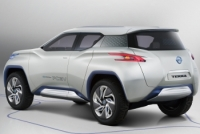 Nissan Has Unveiled The New Terraat at The Upcoming 2012 Paris