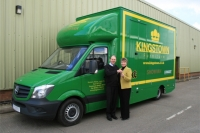 Kingstown Furniture's Brand New Show Van Has Set off on Its Long Expedition Across The UK
