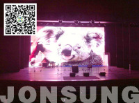 Jonsung Installed an Indoor P7.62 LED Display in American White House Theater