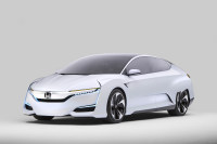 Honda Introduced Its FCV Concept at The 2015 North American International Auto Show