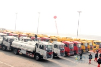 5239 JAC Gallop Heavy Truck Were Shipped to Venezuela On November 17