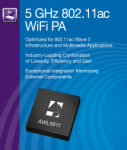 Anadigics Expands Its Family of 802.11AC 5GHz WiFi Power Amplifiers