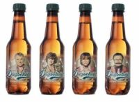 Beer Bottles with Talking Heads